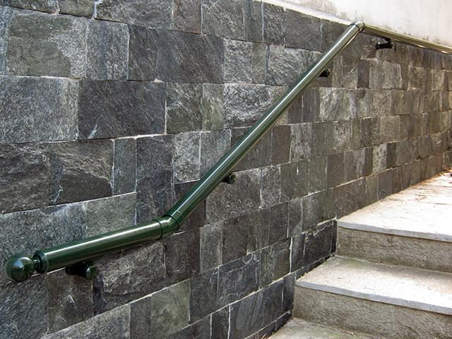 Aluminum wall railings