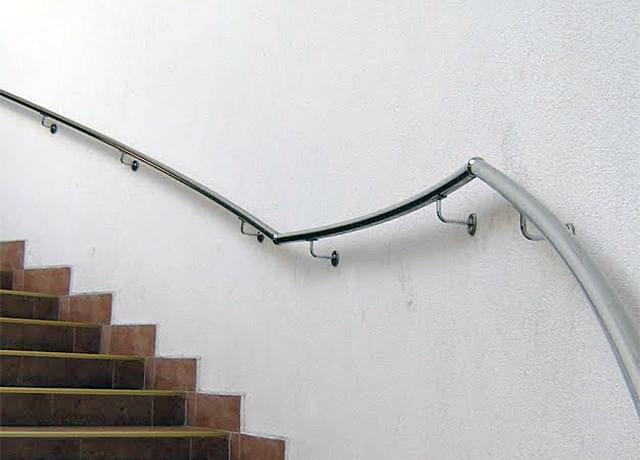 Inox wall railings